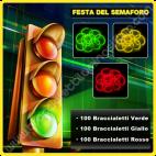Festa del Semaforo Braccialetti Fluorescenti