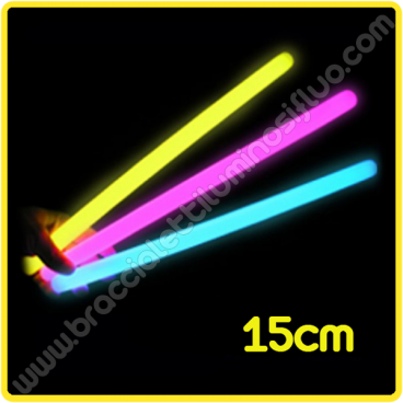 Bastoncini Luminosi 15 cm (25 pz)
