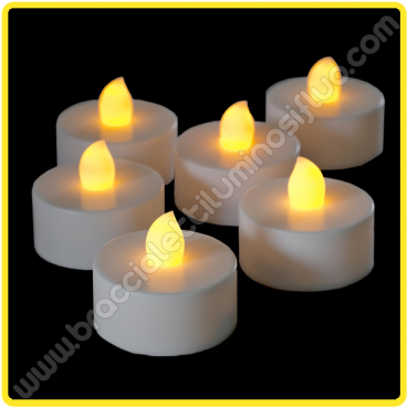 Candela Led con luce (1 pz)