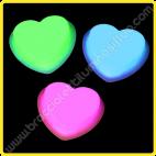 Spilla Fluorescente Cuore (1 ud)
