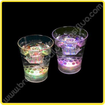 Bicchiere Led con Luce