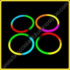 Braccialetti Luminosi Tricolore