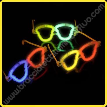 Occhiali Luminosi Teschio Pacco (50 pz)