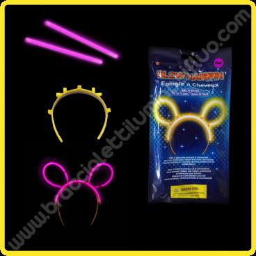Orecchie Luminose Confezione Singola (1 pz)