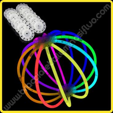 Sfere Luminose Monocolore (8 pz)