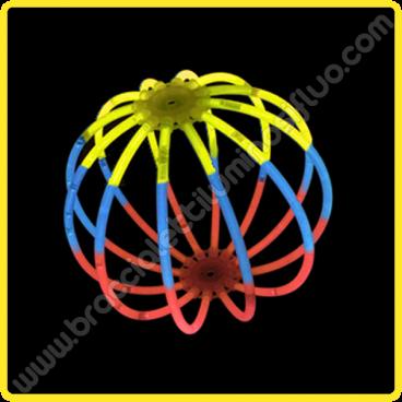 Sfere Luminose Tricolore (8 pz)