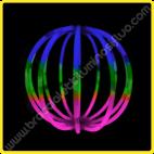 Sfere Luminose Tricolore