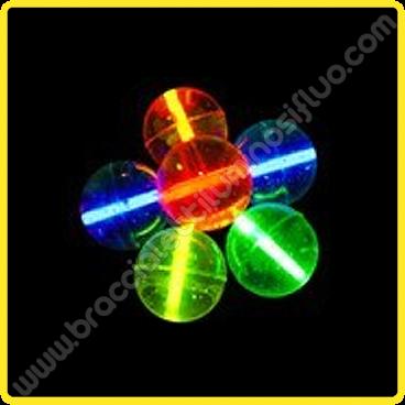 Palle di Gomma Luminose (2 pz)