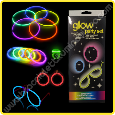 Festa Fluo Party Pack Completo (1 pz)