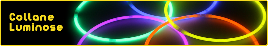 collane luminose fluo